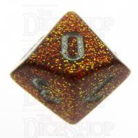 Chessex Glitter Gold D10 Dice