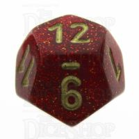 Chessex Glitter Ruby D12 Dice