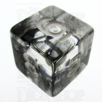 TDSO Eldritch Swirl Black D6 Dice