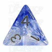 TDSO Eldritch Swirl Blue D4 Dice