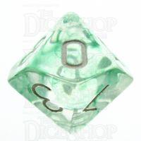 TDSO Eldritch Swirl Green D10 Dice