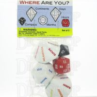Koplow Where are you? Multi Sided Dice Set D8 D12 D14 D24