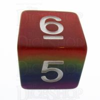 TDSO Layer Rainbow D6 Dice