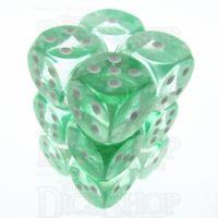 TDSO Eldritch Swirl Green 12 x D6 Dice Set