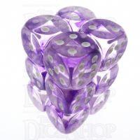 TDSO Eldritch Swirl Purple 12 x D6 Dice Set