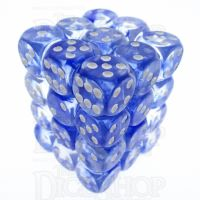TDSO Eldritch Swirl Blue 36 x D6 Dice Set