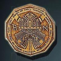 Dwarven Legendary Metal Gold Coin