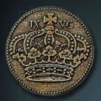 Capital Legendary Metal Gold Coin