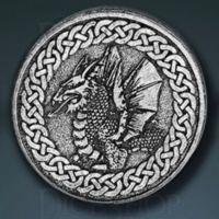 Dragon Legendary Metal Silver Coin