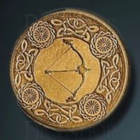 Elven Legendary Metal Gold Coin