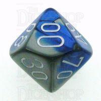 Chessex Gemini Blue & Steel Percentile Dice