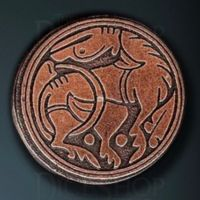 Medieval Legendary Metal Copper Coin
