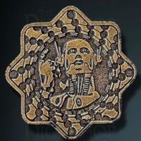 Sci-Fi Legendary Metal Gold Coin