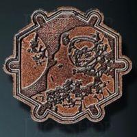 Sci-Fi Legendary Metal Copper Coin