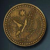 Wild West Legendary Metal Gold Coin