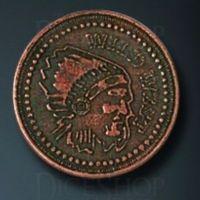 Wild West Legendary Metal Copper Coin