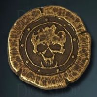 Orc Legendary Metal Gold Coin