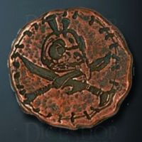 Orc Legendary Metal Copper Coin