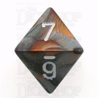 Chessex Gemini Copper & Steel D8 Dice