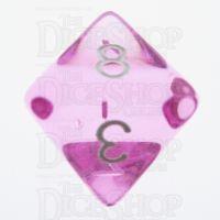 TDSO Bright Gem Rose D8 Dice