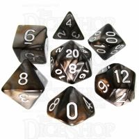 TDSO Duel Gold & Silver 7 Dice Polyset