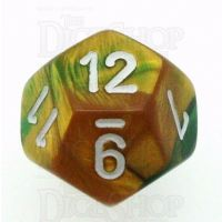 Chessex Gemini Gold & Green D12 Dice