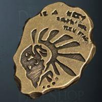 Necromancer Legendary Metal Gold Coin