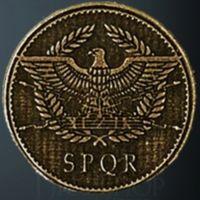 Roman Legendary Metal Gold Coin