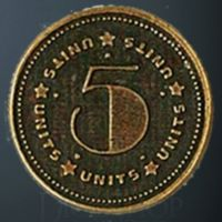Units Legendary Metal Gold Coin