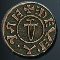 Viking Legendary Metal Copper Coin