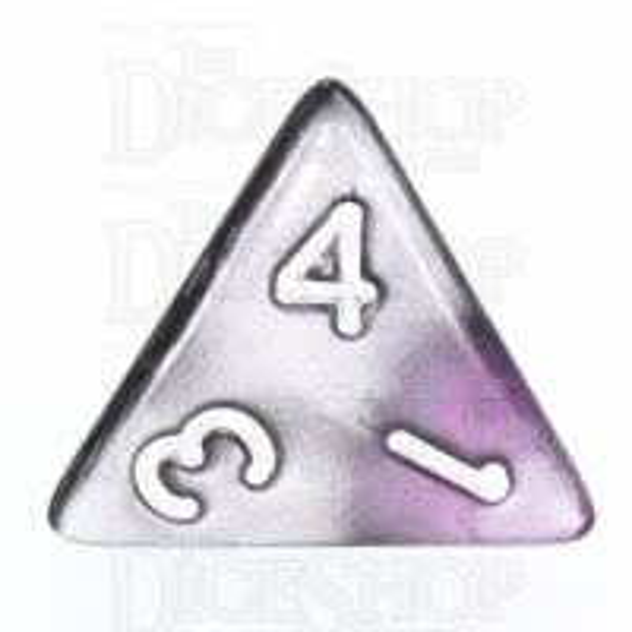 TDSO Duel Purple & Steel D4 Dice