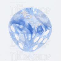 Chessex Nebula Dark Blue NO...! Logo D6 Spot Dice
