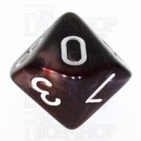 TDSO Duel Copper & Blue D10 Dice
