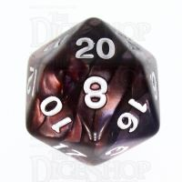 TDSO Duel Copper & Blue D20 Dice