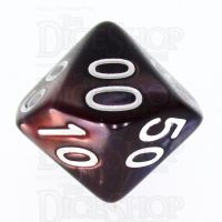 TDSO Duel Copper & Blue Percentile Dice