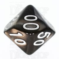 TDSO Duel Gold & Silver Percentile Dice