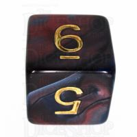 TDSO Duel Red & Blue D6 Dice