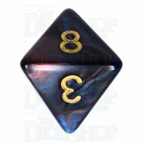 TDSO Duel Red & Blue D8 Dice