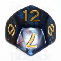 TDSO Duel Red & Blue D12 Dice