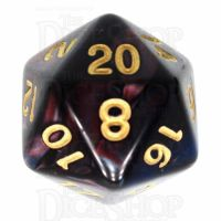 TDSO Duel Red & Blue D20 Dice