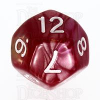 TDSO Duel Rose & Yellow D12 Dice
