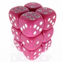 TDSO Opaque Pink 12 x D6 Dice Set