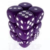 TDSO Opaque Purple 12 x D6 Dice Set