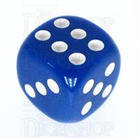 TDSO Opaque Blue 16mm D6 Spot Dice