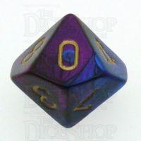 Chessex Gemini Blue & Purple D10 Dice