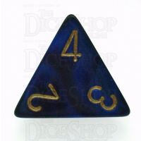 Chessex Gemini Blue & Purple D4 Dice
