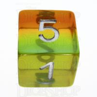 TDSO Layer Transparent Astral D6 Dice
