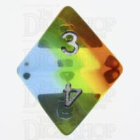 TDSO Layer Transparent Astral D8 Dice