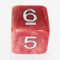 TDSO Duel Ivory & Red with Silver D6 Dice - Discontinued