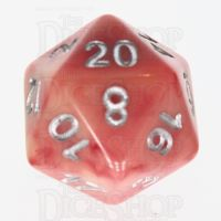 TDSO Duel Ivory & Red with Silver D20 Dice - Discontinued